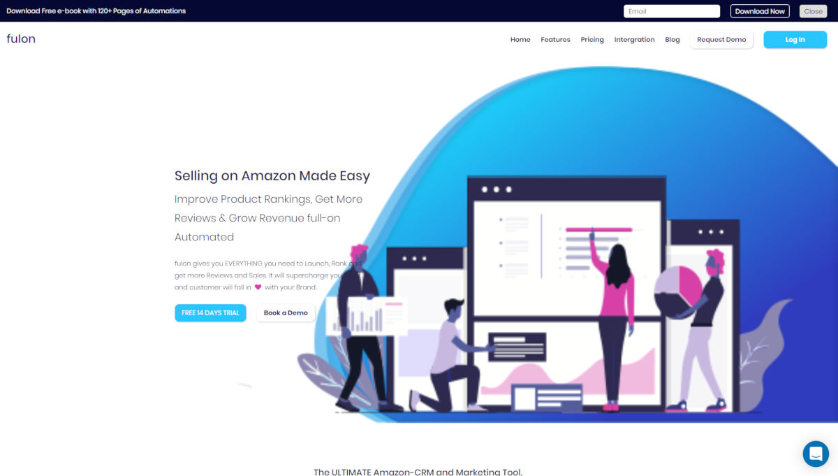 Fulon landing page screenshot